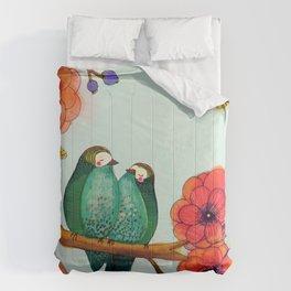 feather bellies Comforters