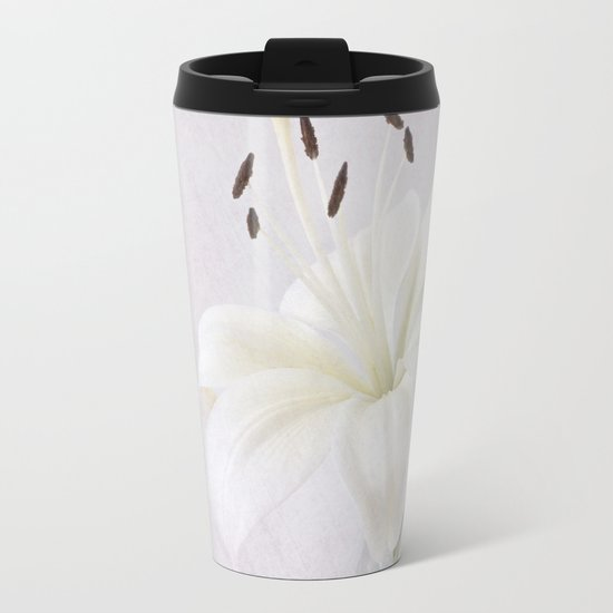 Lily Metal Travel Mug