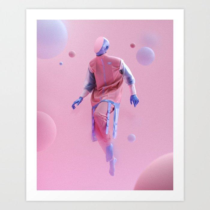 Deliverance - CATELLOO x AEFORIA Art Print