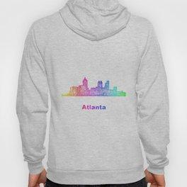 Rainbow Atlanta skyline Hoody