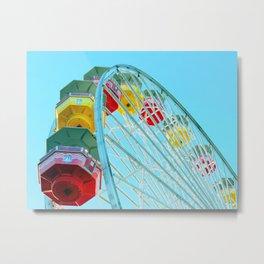 Ferris Wheel Metal Print