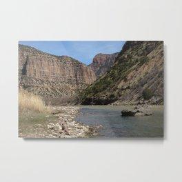 Green River, Dinosaur National Monument Metal Print