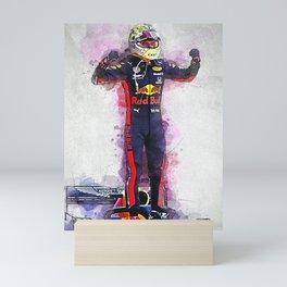 Max Verstappen Mini Art Print