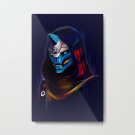 NEON Cayde-6 fan art Metal Print