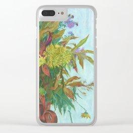 Autumn bouquet Clear iPhone Case