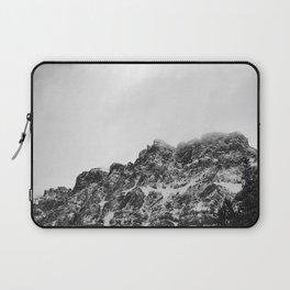 Black Castle Mountain Laptop Sleeve