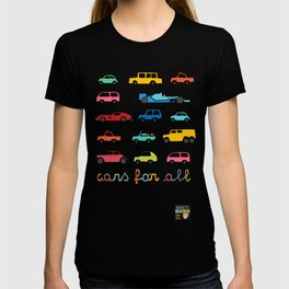 Cars for all T-shirt