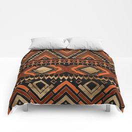 Aztec Ethnic Pattern Art N7 Comforters