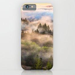 Coastal Fog Over Mount Tamalpais iPhone Case