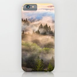 Coastal Fog Over Mount Tamalpais iPhone Case