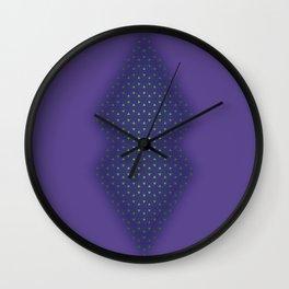 Crystal Wall Clock