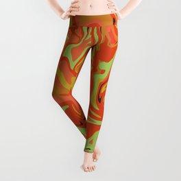 Papaya Juice Leggings