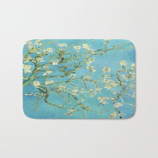 Vincent Van Gogh Almond Blossoms Bath Mat