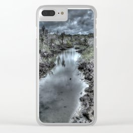 dark river Clear iPhone Case