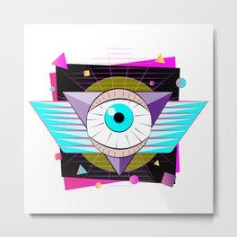 The All-Seer Metal Print