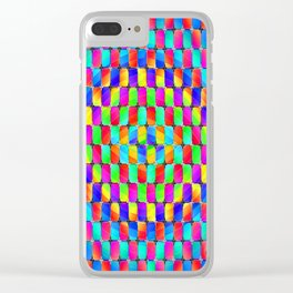 Tumbler #31 Psychedelic Optical Illusion Design by CAP Clear iPhone Case