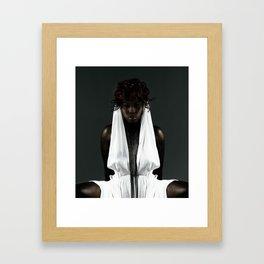 The Dark Queen Framed Art Print