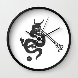 Lazer Snek Wall Clock