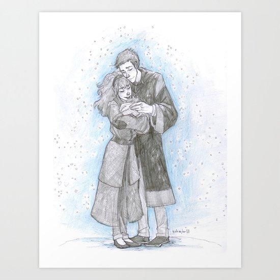 Warming Charm Art Print