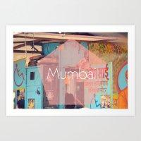 Mumbai Art Print