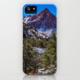 The_Watchman - Winter in Zion_National_Park, UT iPhone Case