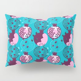 Pomegranate Abstraction  Pillow Sham
