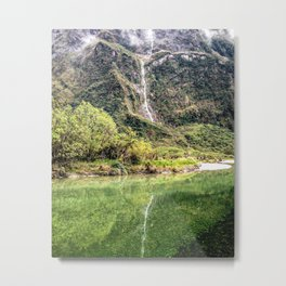 Earthy Mountain Stream // Hiking Bliss Incredible Views of the Beautiful Mountainscape Metal Print