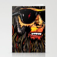 teen wolf Stationery Cards featuring Teen Wolf by Vasco Vicente