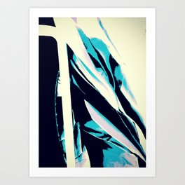 ER Abstract Art Print
