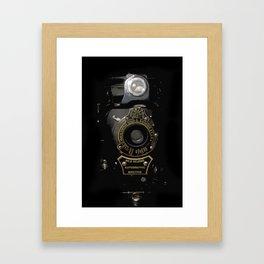 VINTAGE AUTOGRAPHIC BROWNIE FOLDING CAMERA Framed Art Print
