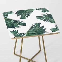 Banana Leaf Watercolor #society6 #buy #decor Side Table