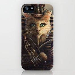 King Tutankhameow iPhone Case