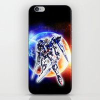 gundam iPhone & iPod Skins featuring Gundam Wing by bimorecreative