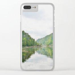 Mattawa River in Colour Clear iPhone Case