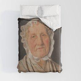 Christen Købke - Portrait of Inger Margrethe Høyen, nee Schrøder, the Mother of the Art Historian NL Duvet Cover