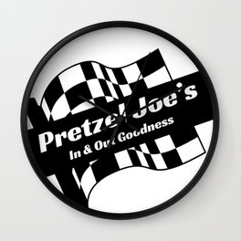 pretzel joes Wall Clock