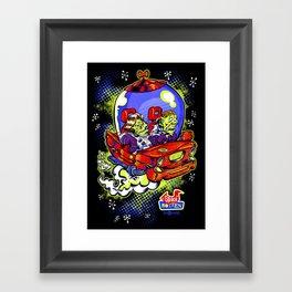 Space Rotten Framed Art Print