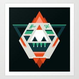 Sasquatch boss Art Print