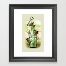 THIRSTY FROGS Framed Art Print