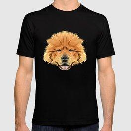 Shar Pei low poly. T-shirt