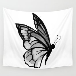 Ink butterfly Wall Tapestry