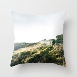 Bray to Greystones Throw Pillow