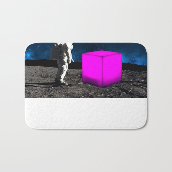 Cube from Space Bath Mat