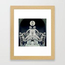 Lua Framed Art Print