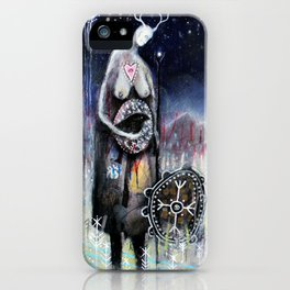 Haligarth - A Sacred Place iPhone Case