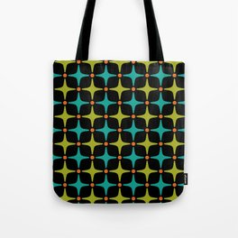 Mid Century Modern Star Pattern 926 Tote Bag