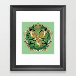 My Empire Collection Summer Set mint green Framed Art Print