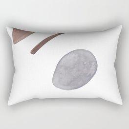 Modern Minimalist art, Minimalist Print, Geometric Poster, Abstract Prints, Abstract wall art, Home Rectangular Pillow