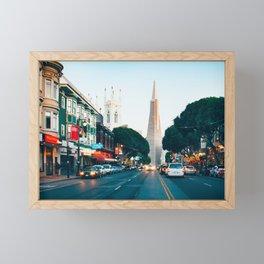 Iconic Transamerica Pyramid Framed Mini Art Print