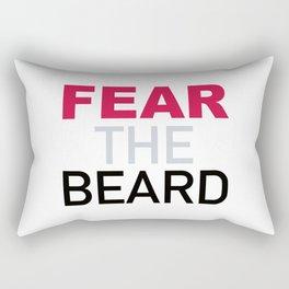 Fear The Beard Rectangular Pillow